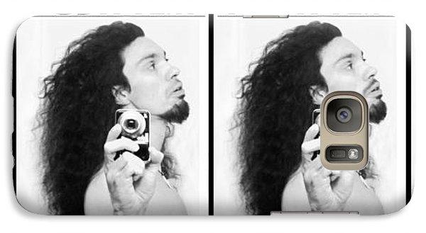 Self Portrait Progression Of Self Deception Galaxy S7 Case