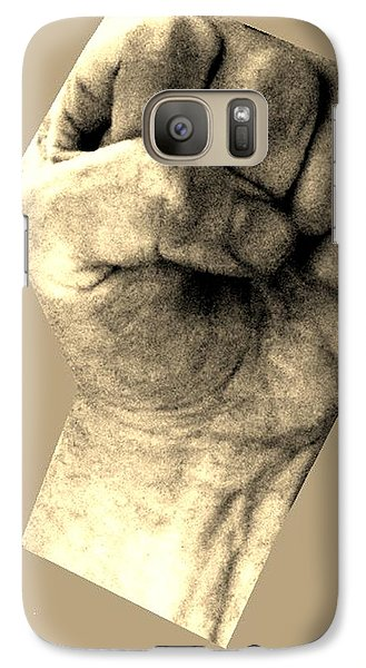 Galaxy Case featuring the photograph Self Portrait Too by Cletis Stump