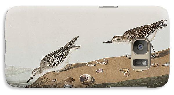 Semipalmated Sandpiper Galaxy S7 Case by John James Audubon