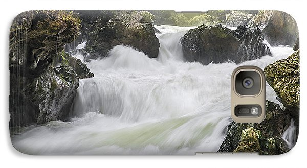 Galaxy Case featuring the photograph Semuch-champey River And Waterfalls by Yuri Santin