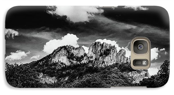 Galaxy Case featuring the photograph Seneca Rocks II by Shane Holsclaw