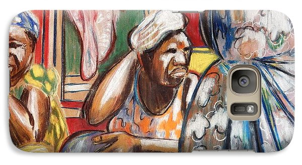 Galaxy Case featuring the painting Senegal, 1965 by Gary Coleman