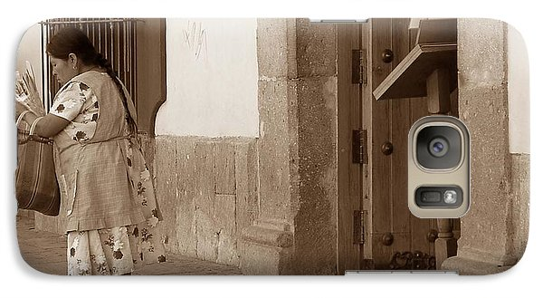 Galaxy Case featuring the photograph Senora by Mary-Lee Sanders