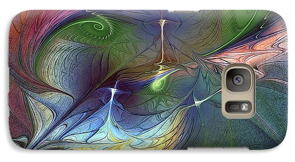 Galaxy Case featuring the digital art Sentimental Journey by Karin Kuhlmann