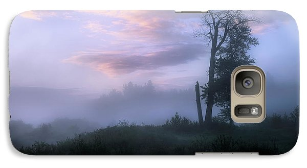 Galaxy Case featuring the photograph Sentinels In The Valley by Dan Jurak