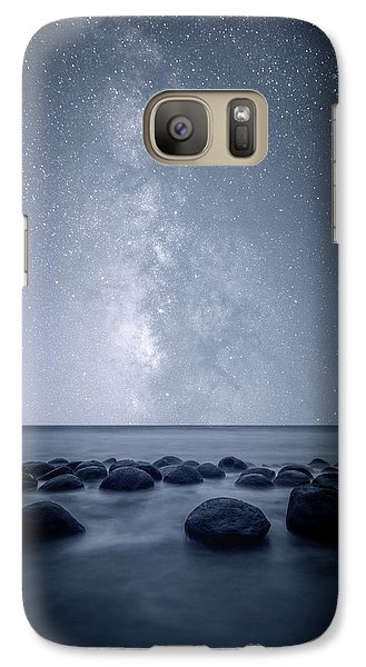 Galaxy Case featuring the photograph Septarian Concretions by Dustin LeFevre