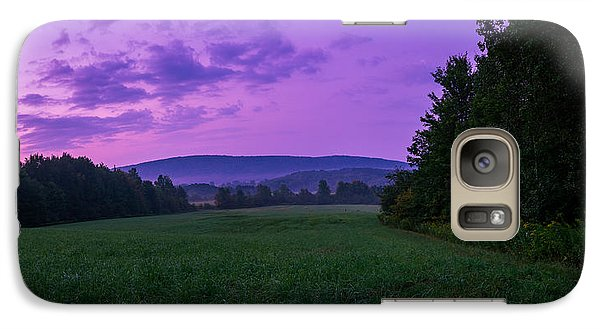 Galaxy Case featuring the photograph September Twilight by Chris Bordeleau