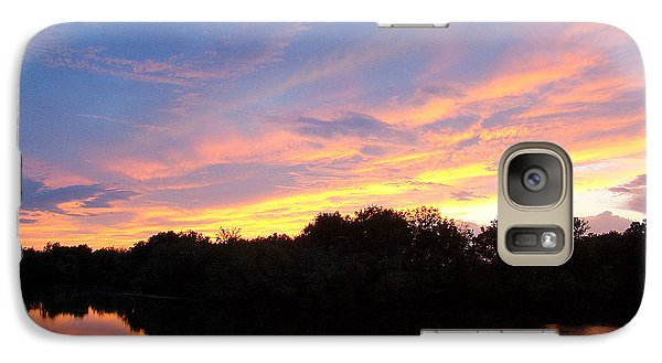 Galaxy Case featuring the photograph Septiembre Sol by J R Seymour