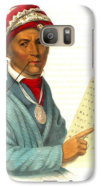 Galaxy Case featuring the photograph Sequoyah 1838 by Padre Art