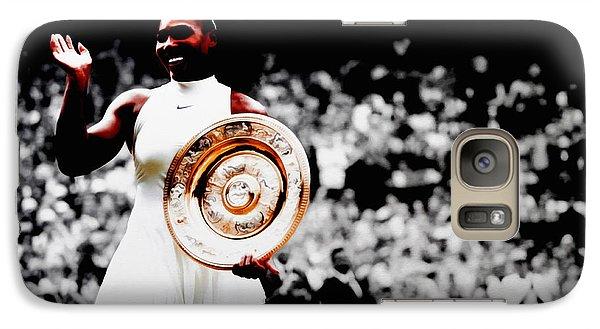 Serena 2016 Wimbledon Victory Galaxy S7 Case