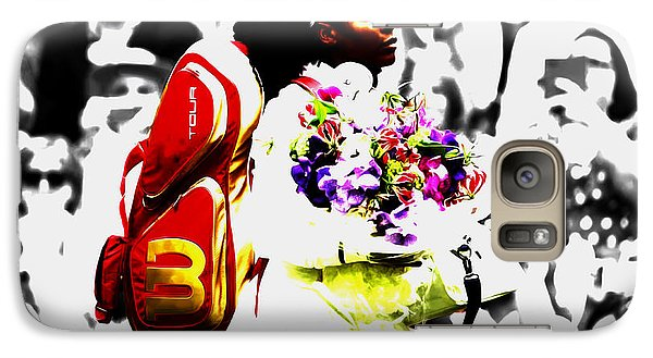 Serena Williams 2f Galaxy Case by Brian Reaves