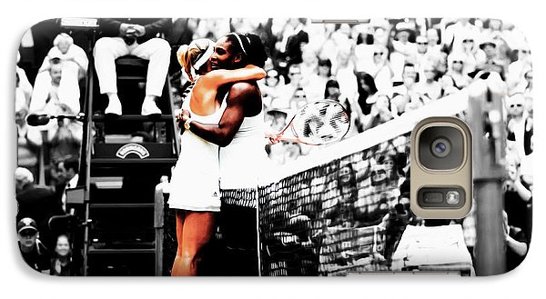 Serena Williams And Angelique Kerber 1a Galaxy S7 Case by Brian Reaves