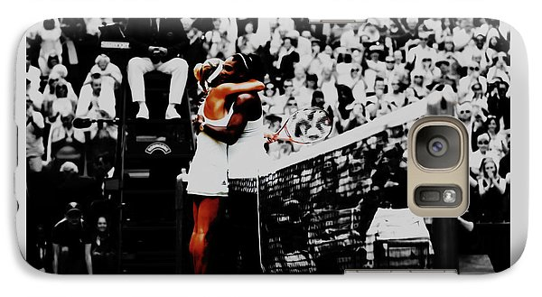 Serena Williams And Angelique Kerber Galaxy S7 Case by Brian Reaves