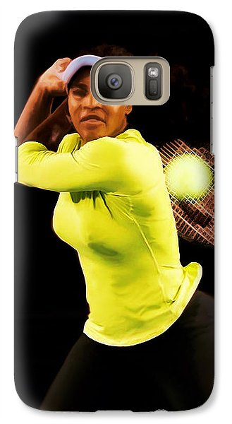 Serena Williams Bamm Galaxy S7 Case by Brian Reaves