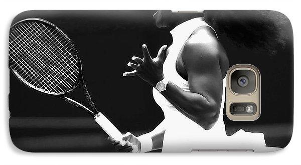 Venus Williams Galaxy S7 Case - Serena Williams Making Magic Happen by Brian Reaves
