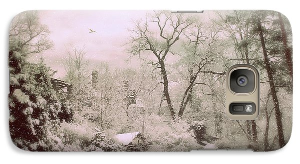 Galaxy Case featuring the photograph Serene In Snow by Jessica Jenney