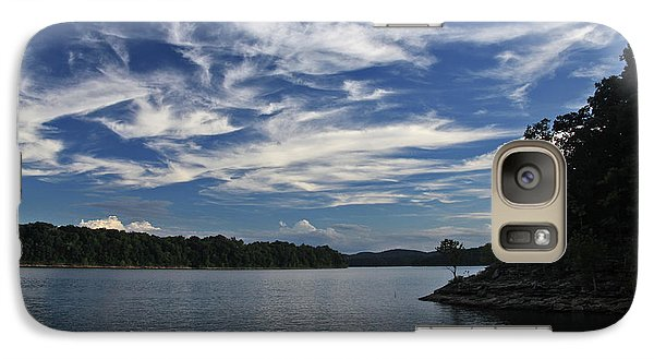 Galaxy Case featuring the photograph Serene Skies by Gary Kaylor