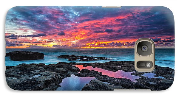 Serene Sunset Galaxy S7 Case
