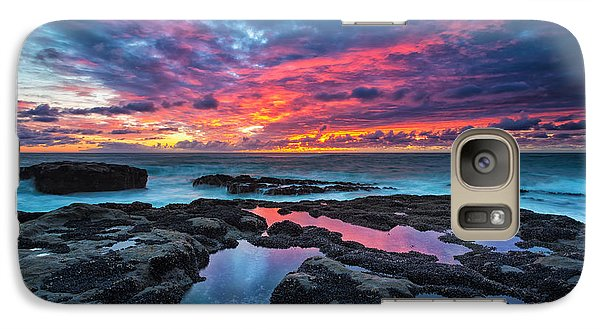 Serene Sunset Galaxy Case by Robert Bynum