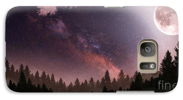 Galaxy Case featuring the digital art Serenity by Anthony Citro