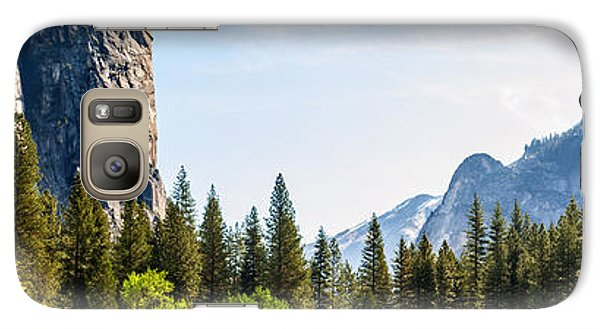 Yosemite National Park Galaxy S7 Case - Serenity by Az Jackson