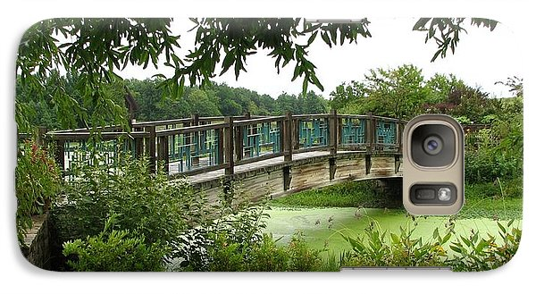 Galaxy Case featuring the photograph Serenity Bridge by David Dunham