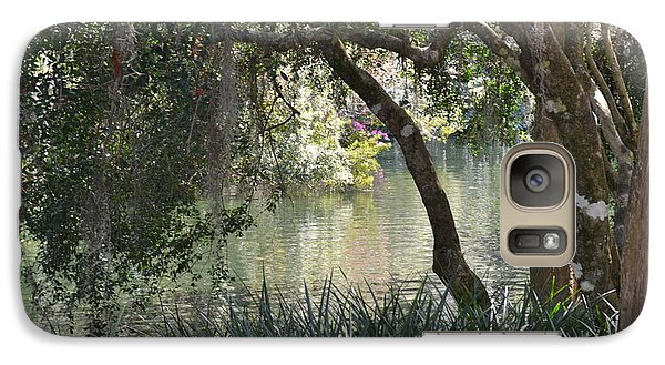 Galaxy Case featuring the photograph Serenity by Carol  Bradley