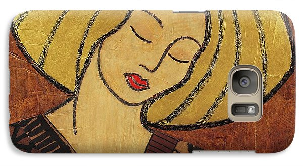Galaxy Case featuring the mixed media Serenity by Gloria Rothrock