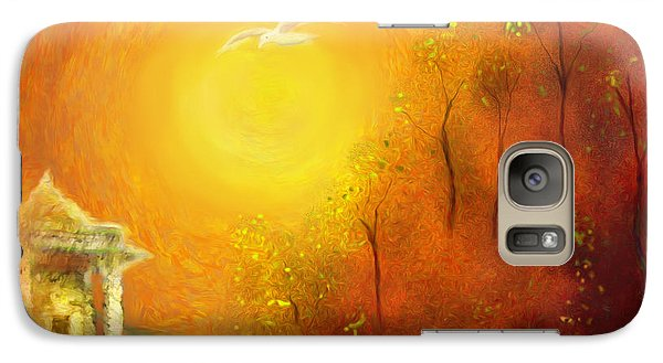 Galaxy Case featuring the painting Serenity by Michael Cleere