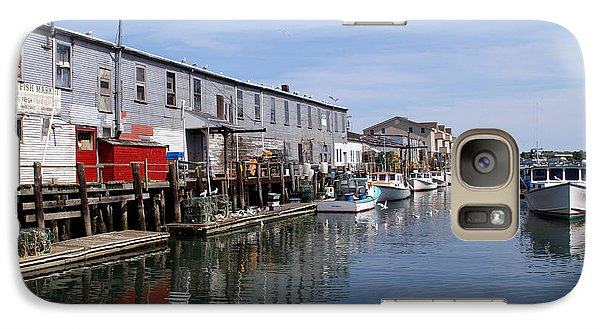 Galaxy Case featuring the photograph Serenity Of The Harbor by Lynda Lehmann