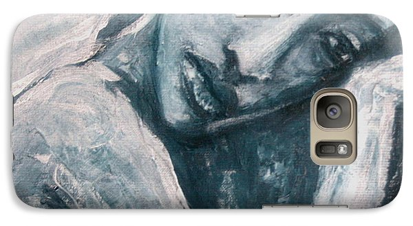Galaxy Case featuring the painting Serenity Prayer by Jarmo Korhonen aka Jarko