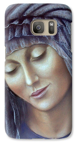 Galaxy Case featuring the painting Serenity by Rosemary Colyer