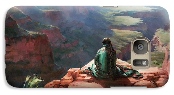 Grand Canyon Galaxy S7 Case - Serenity by Steve Henderson