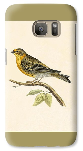 Serin Finch Galaxy S7 Case by English School