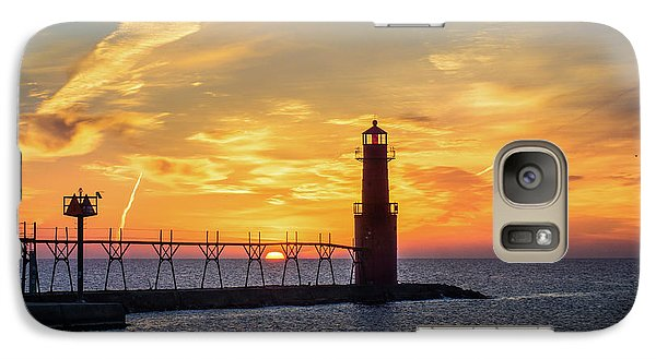 Galaxy S7 Case featuring the photograph Serious Sunrise by Bill Pevlor