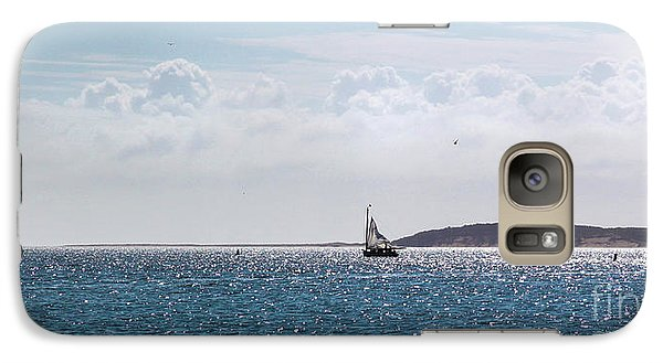 Galaxy Case featuring the photograph Setting Sail by Michelle Wiarda