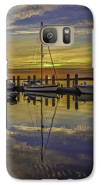 Setting Sun Reflections Galaxy S7 Case