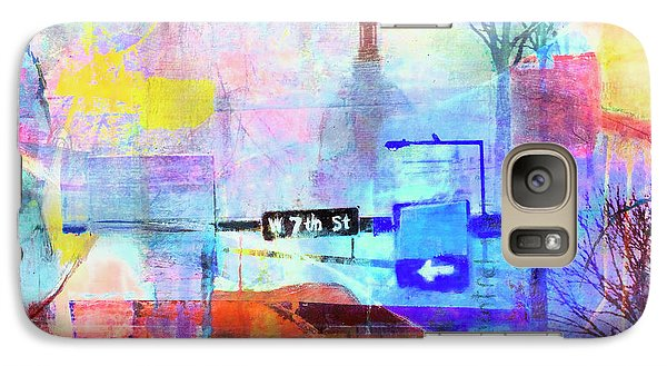 Galaxy Case featuring the photograph Seventh Street by Susan Stone