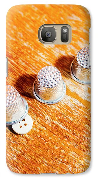 Magician Galaxy S7 Case - Sewing Tricks by Jorgo Photography - Wall Art Gallery