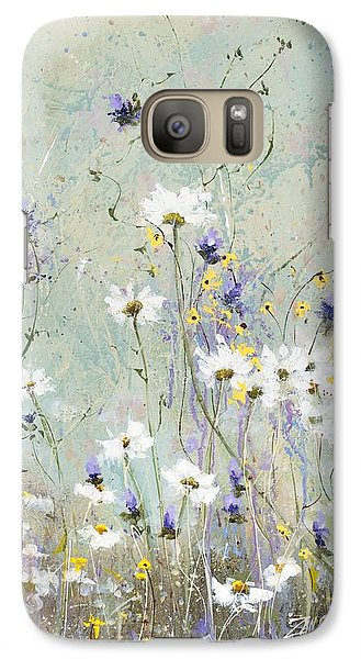 Galaxy Case featuring the painting Shabby Ten by Laura Lee Zanghetti
