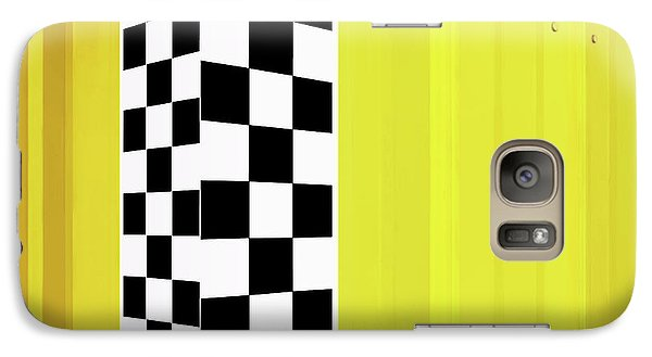 Galaxy Case featuring the photograph Shade And Sunshine by Nikolyn McDonald