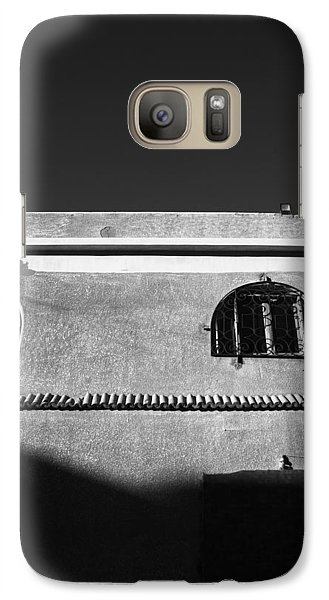 Galaxy Case featuring the photograph Shadees by Jez C Self