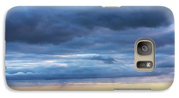 Galaxy Case featuring the photograph Shades Of Blue.. by Nina Stavlund