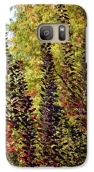 Galaxy Case featuring the photograph Shades Of Fall by Deborah  Crew-Johnson