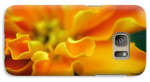Galaxy Case featuring the photograph Shades Of Orange by Eduard Moldoveanu