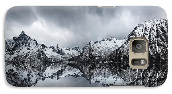 Galaxy Case featuring the photograph Shadow Of The Day by Philippe Sainte-Laudy