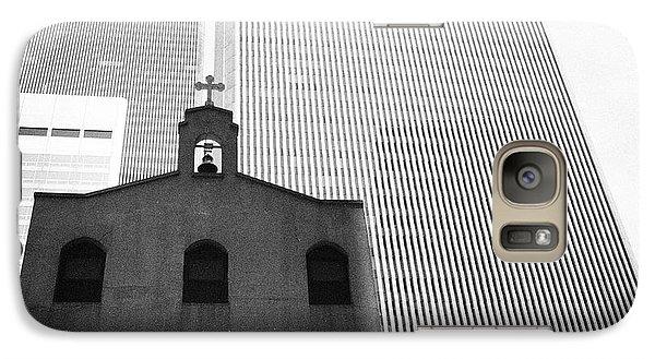 Shadow Of World Trade Center Galaxy S7 Case