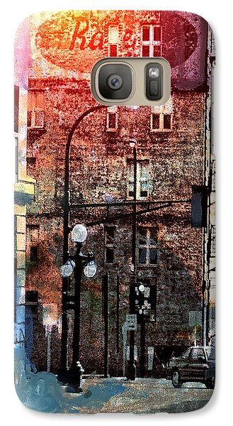 Galaxy Case featuring the photograph Shadow On St. Paul by Susan Stone