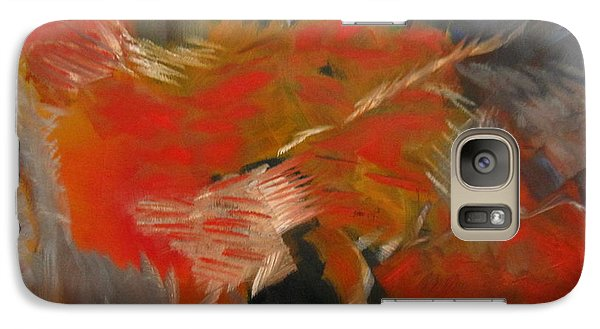 Galaxy Case featuring the painting Shadow by Patricia Cleasby