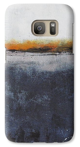 Galaxy Case featuring the painting Shadows In The Night by Nicole Nadeau